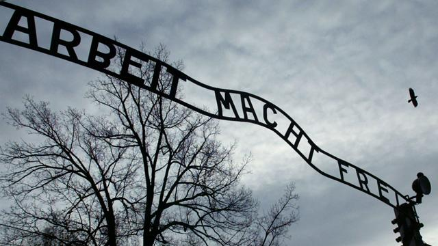 Germans visit Auschwitz - Football - Euro 2012