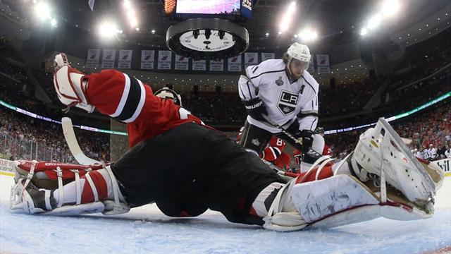 Kings beat Devils to draw first blood