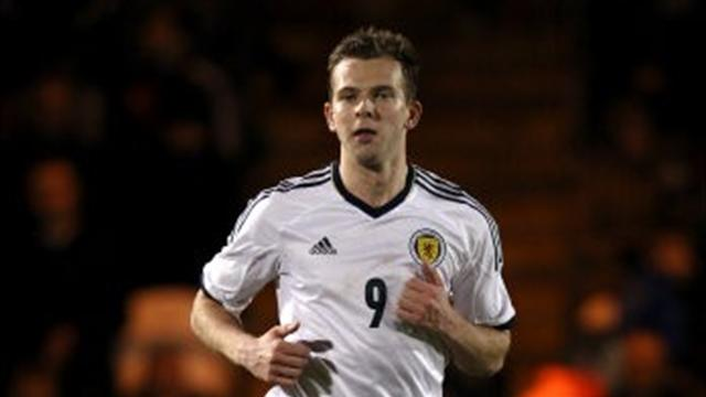 Scotland line up Estonia - Football - World Cup