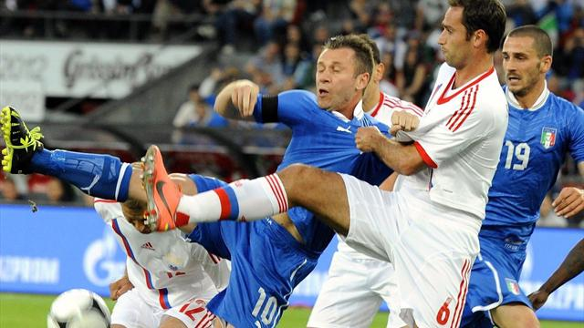 Russia overcome Italy - Football - Euro 2012