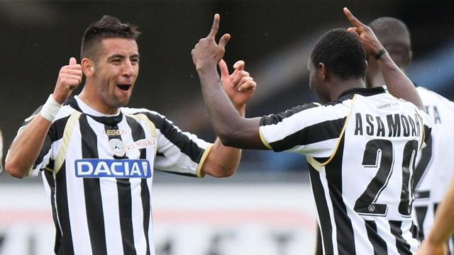 Juventus snare Udinese duo