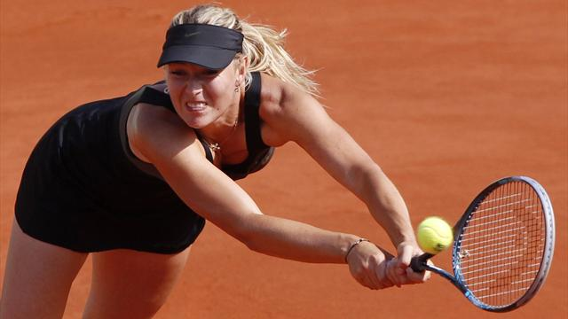 Sharapova wins again - Tennis - French Open