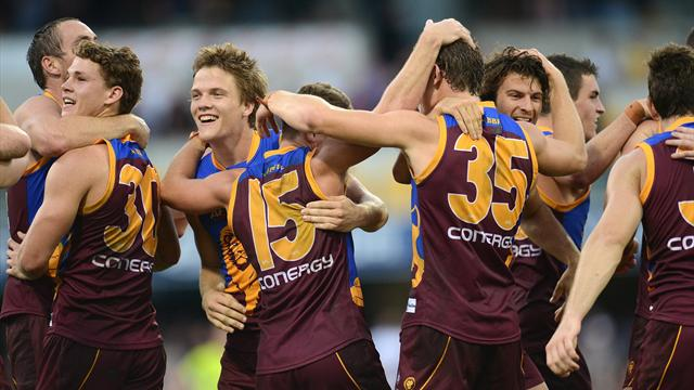 Lions stun Crows - Australian Football
