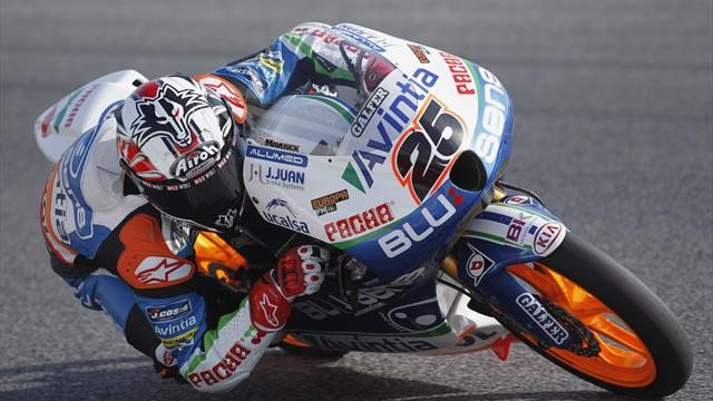 Moto3: Vinales claims another pole