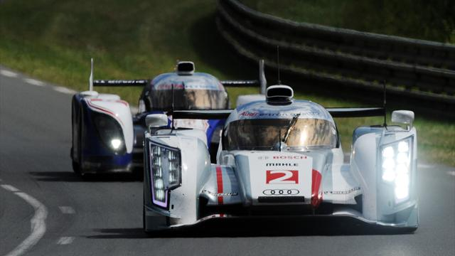 McNish top in Le Mans test - Sports Car - Le Mans 24 Hour