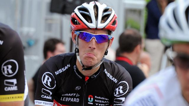 Andy Schleck out of Tour - Cycling - Tour de France