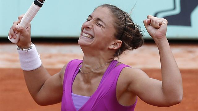 Errani makes semi-finals - Tennis - French Open