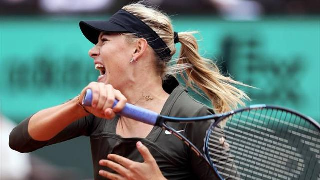 Sharapova thrashes Kanepi - Tennis - French Open