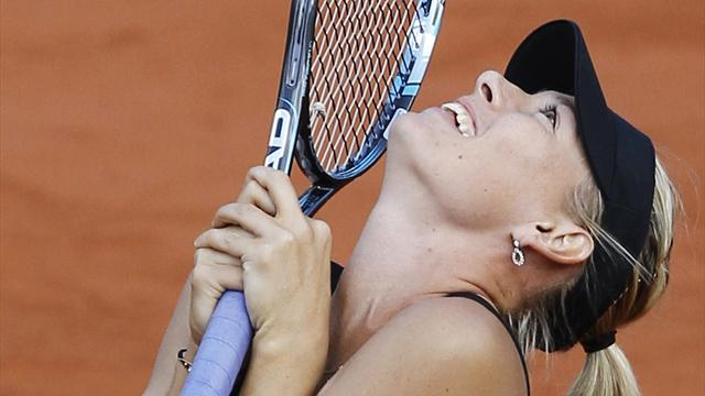 Sharapova into final  - Tennis - French Open
