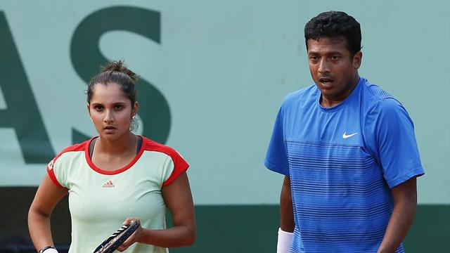 Bhupathi and Mirza lift mixed doubles title