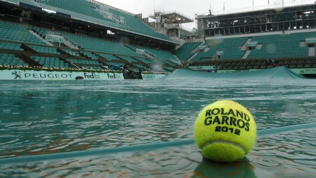 Rain halts final - Tennis - French Open