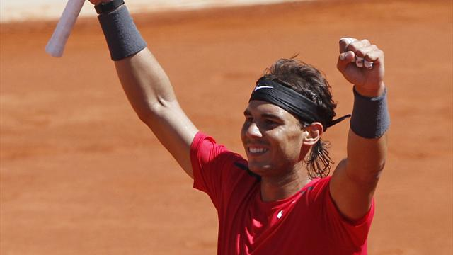 Nadal crushes Ferrer to reach final