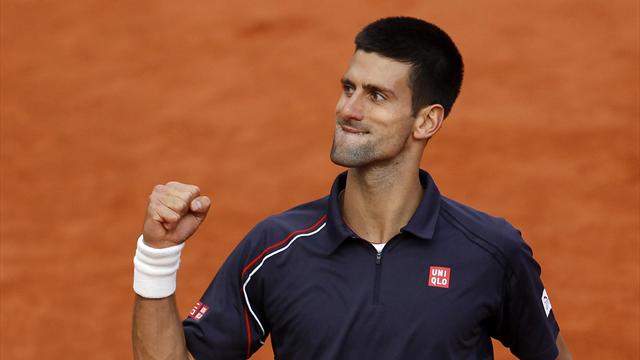 Djokovic beats Federer - Tennis - French Open