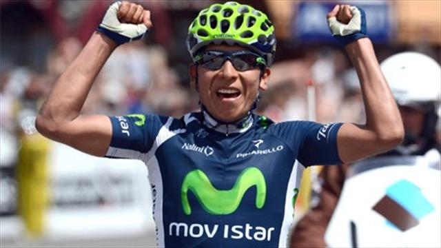Quintana takes lead - Cycling