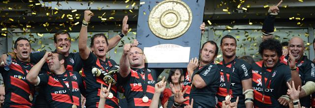Toulouse champion  - Rugby - Top 14