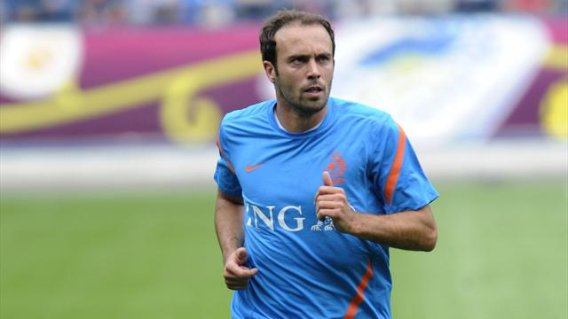 Mathijsen back in training - Football - Euro 2012