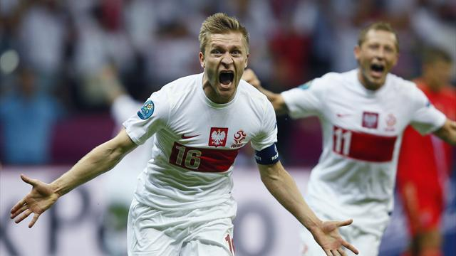 Poland hold Russia - Football - Euro 2012