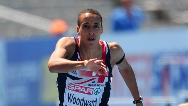Woodward's calm pays off - Athletics