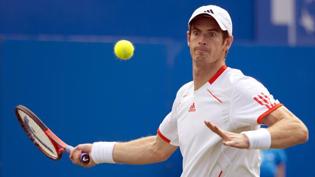Murray loses Wimbledon warm-up