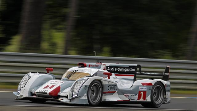 Audi leads 24 Hours - Sports Car - Le Mans 24 Hour