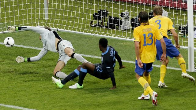 England sink Sweden - Football - Euro 2012