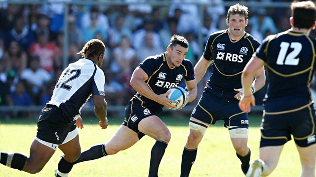Scotland beat Fiji