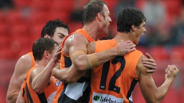 Tigers edge GWS by 12 points