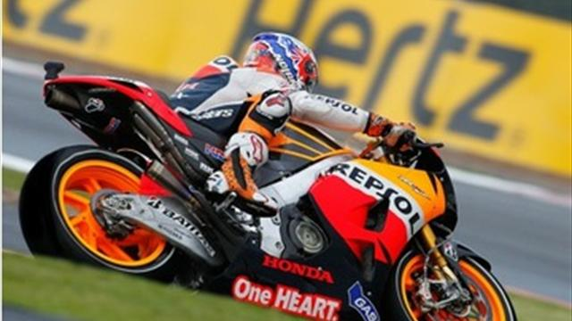 Stoner goes fastest - Motorcycling