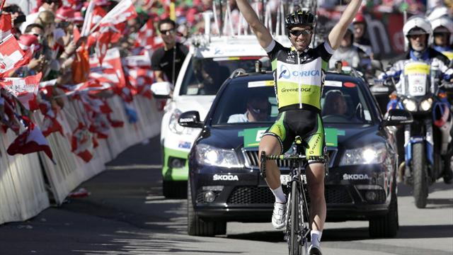Albasini solos to stage 8 - Cycling