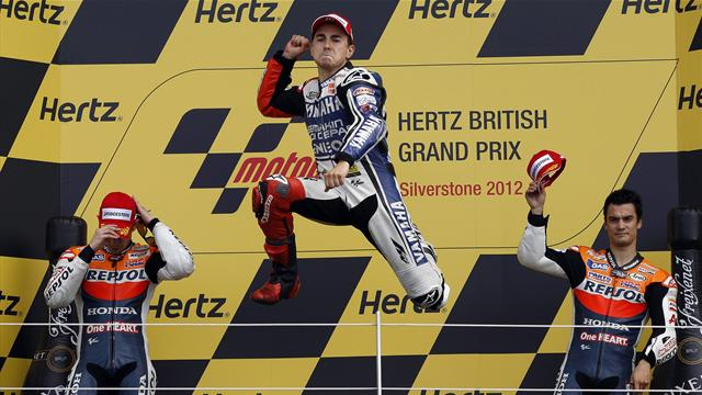 Lorenzo wins, Crutchlow stars in British GP