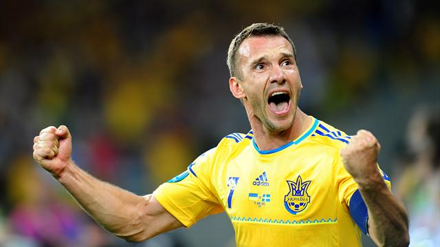 Shevchenko to retire  - Football - Euro 2012