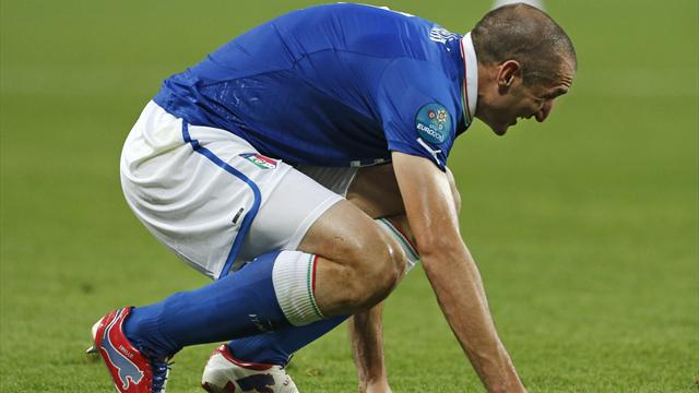 Chiellini could make semi - Football - Euro 2012