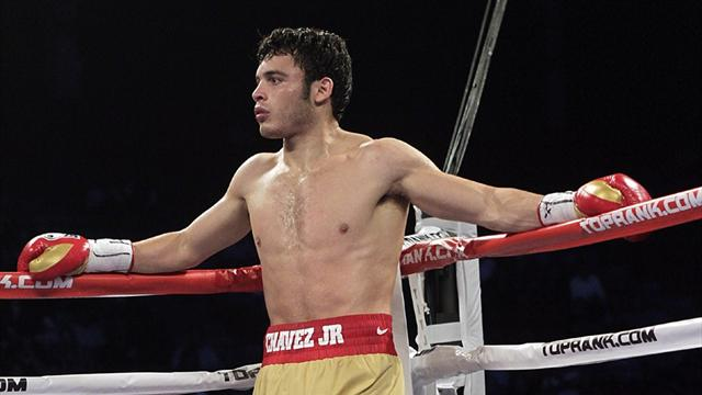 Chavez Jr suspended  - Boxing