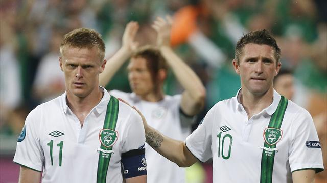 Irish consider futures - Football - Euro 2012