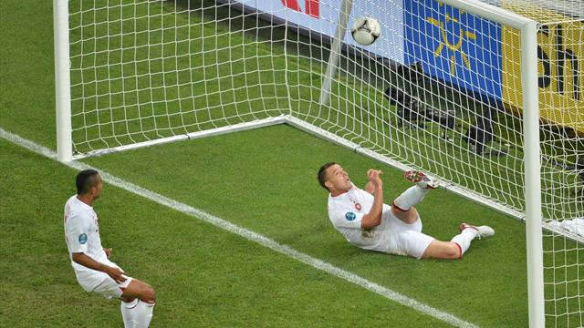 England 1-0 Ukraine - Football - Euro 2012