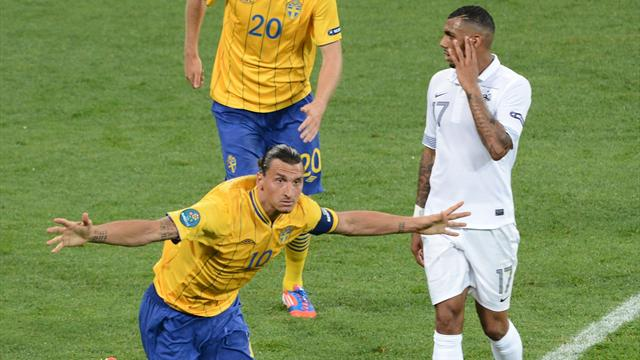 Sweden outgun France - Football - Euro 2012