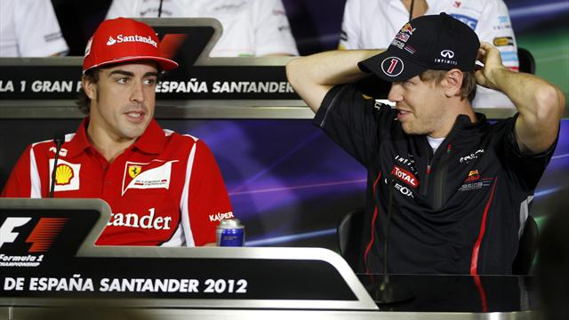 Alonso/Vettel at Ferrari? - Formula 1