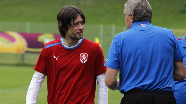 Rosicky fitness boost - Football - Euro 2012