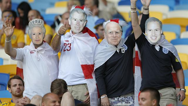 England fined over fans - Football - Euro 2012