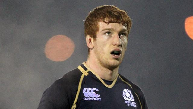 Harley on Scotland bench - Rugby