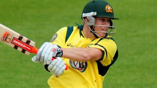 Australia crush Leicestershire
