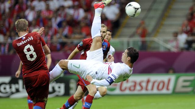 Portugal 1-0 Czech Rep - Football - Euro 2012