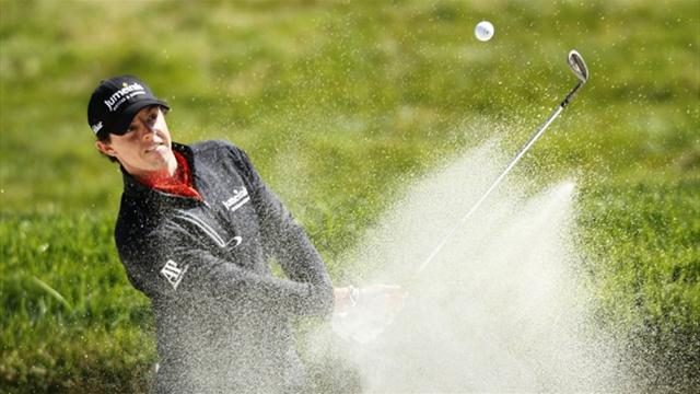 Singh and Bourdy lead, McIlroy steady in Irish Open