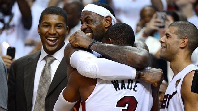 Miami Heat clinch title  - Basketball - NBA