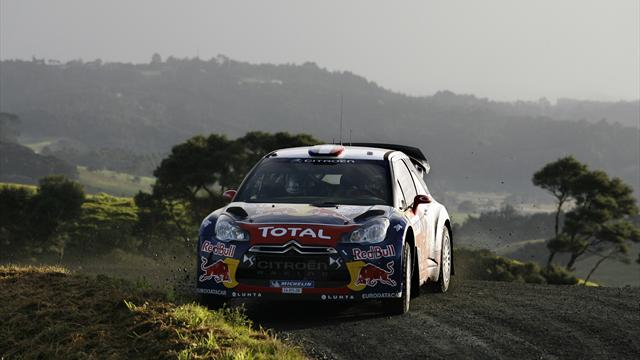 Loeb leads into final day - WRC