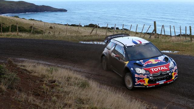 Loeb advances into New Zealand lead