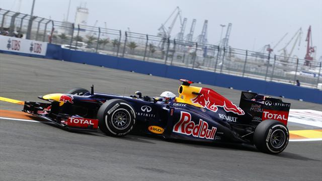 Vettel tops second session - Formula 1