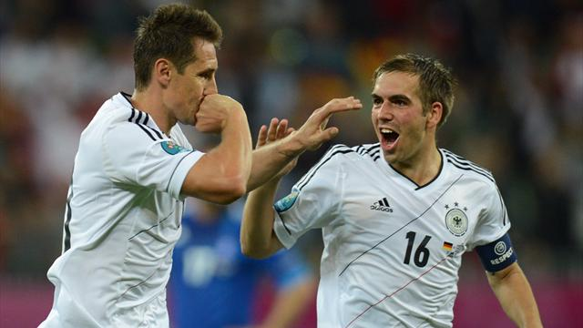 Germany crush Greece - Football - Euro 2012