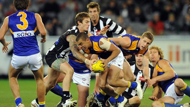 Collingwood beat Eagles  - Australian Football