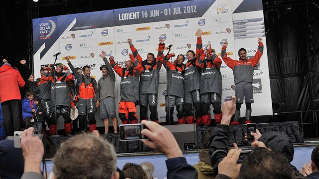 Groupama win Ocean Race - Sailing